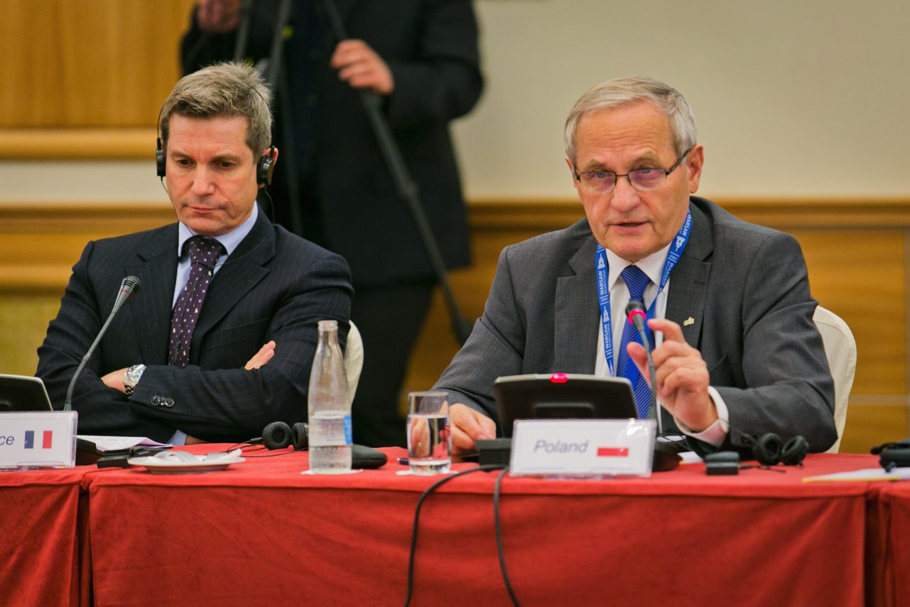 Warsaw Security Forum 2014 opening discussion