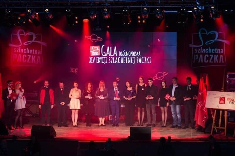 Szlachetna Paczka Gala 2015 scena