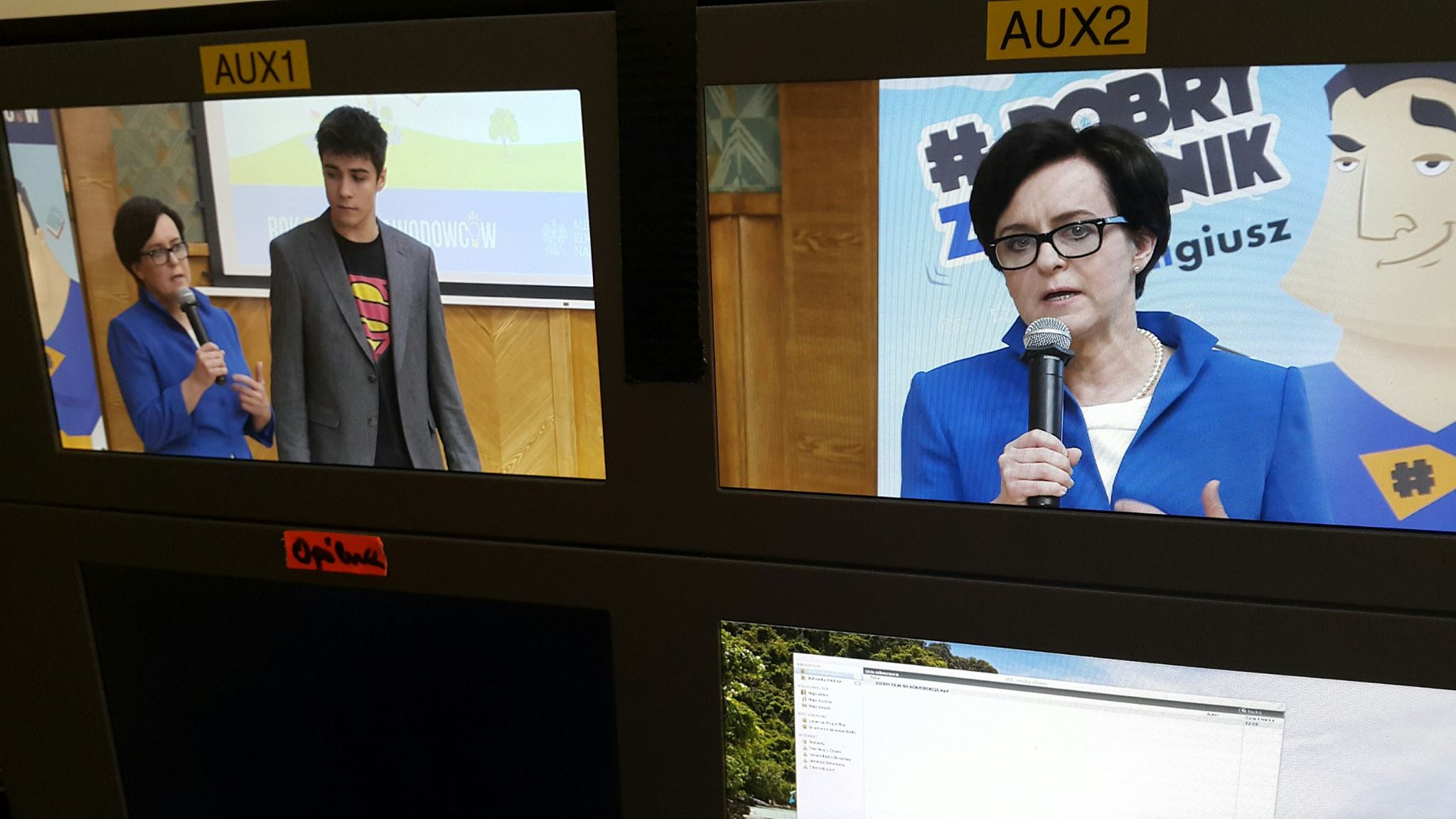 streaming-konferencje-prasowe-ekrany