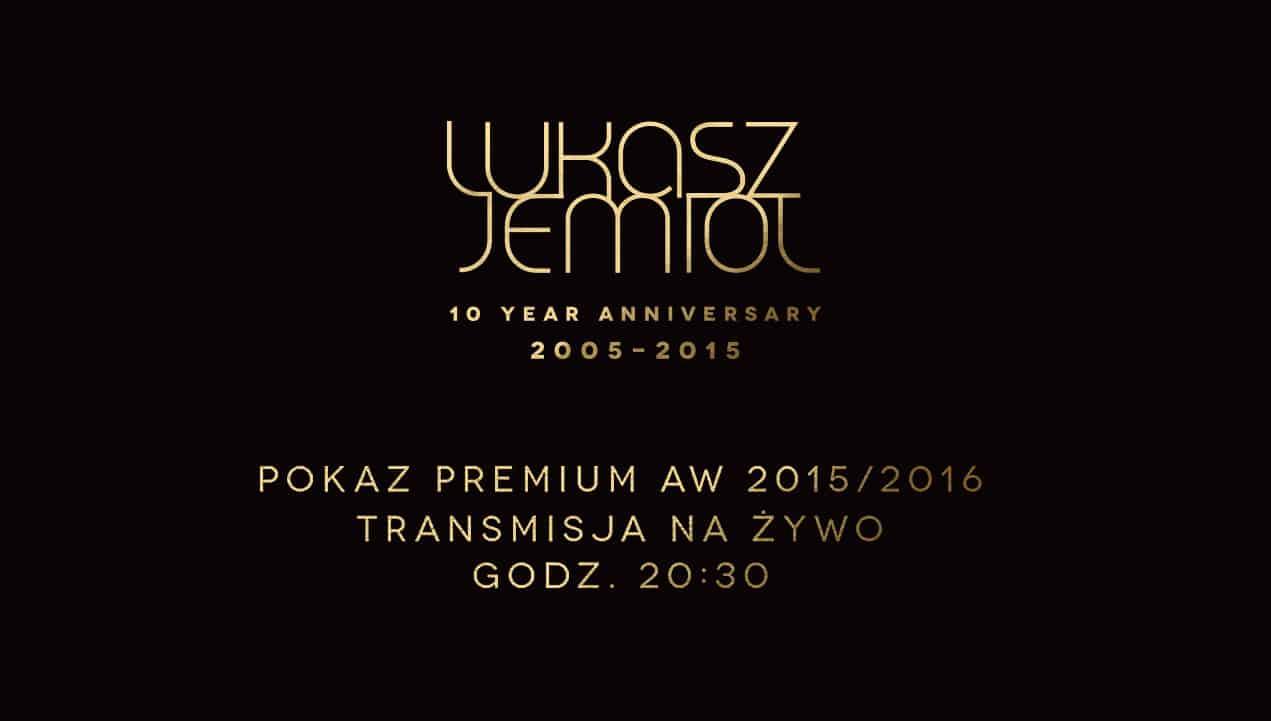 Łukasz Jemioł Fashion Show 2015