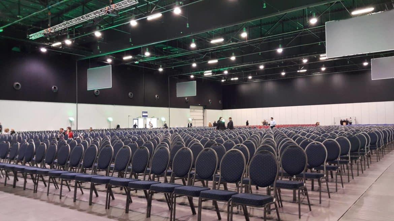 Transmisje na żywo hale Expo Warszawa