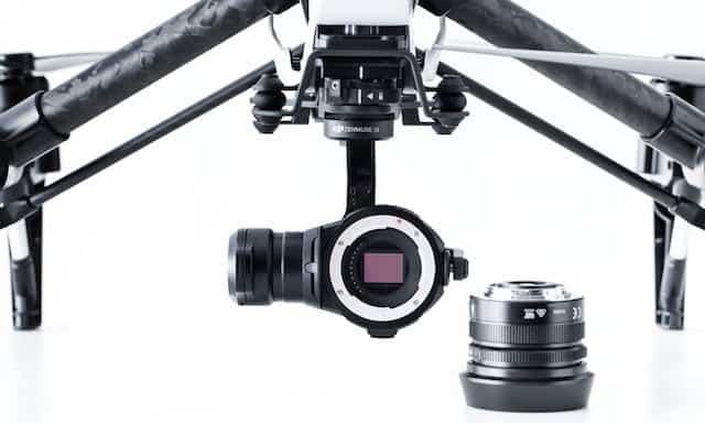 Inspire camera