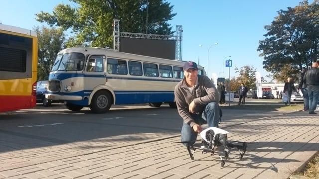 streaming z drona zdjęcia z realizacji