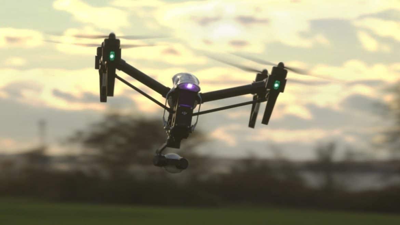 transmisja z drona live