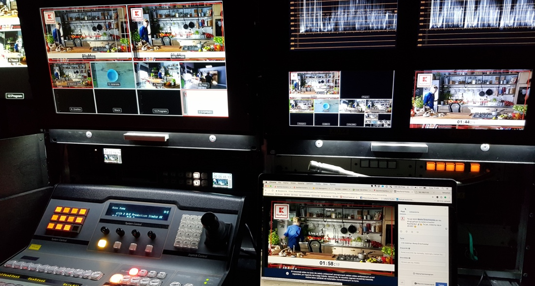 Kaufland transmisja online system realizacyjny
