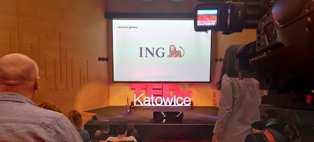 TEDx livestreaming Katowice