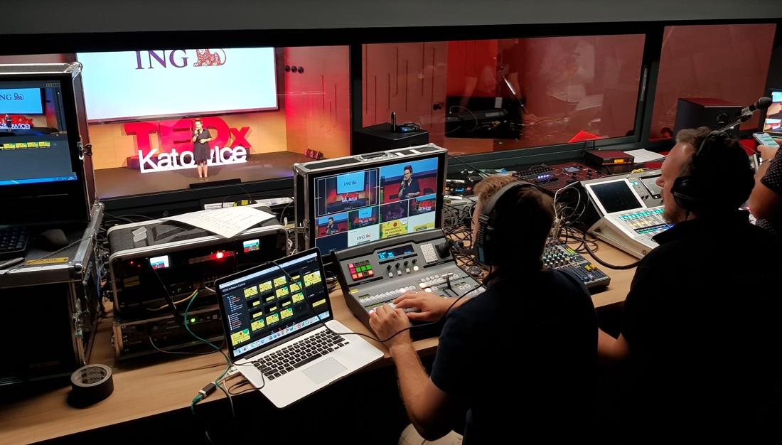Tedx livestreaming reżyserka