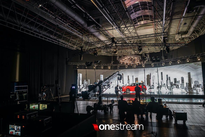 Ekran diodowy studio