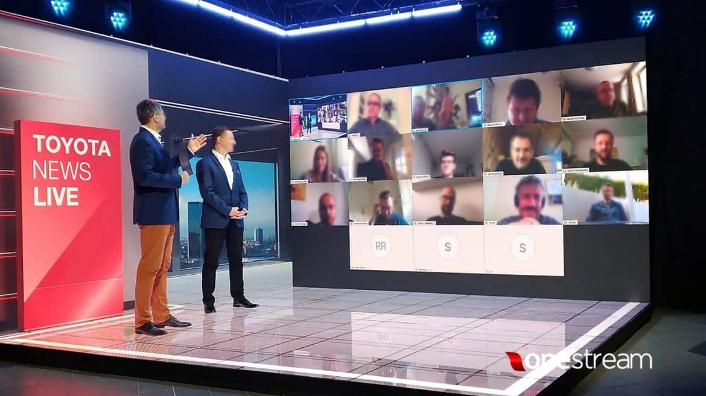 Konferencje na żywo ekrany diodowe