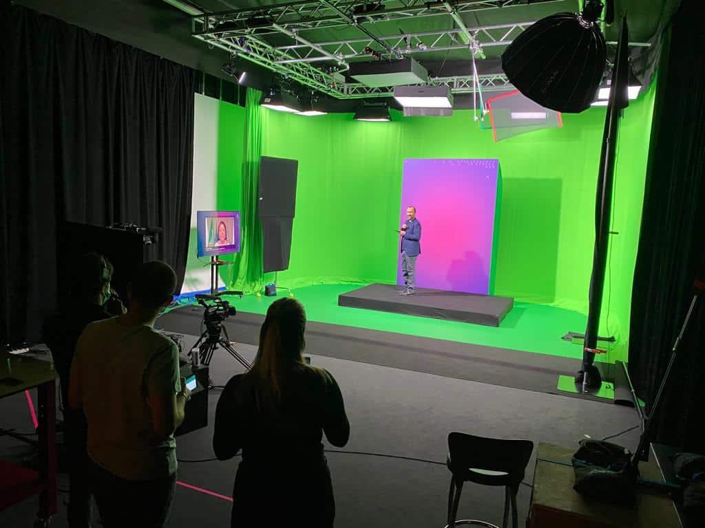 Wirtualne studio green box